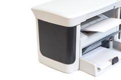 Impressora e papel Fotografia de Stock Royalty Free