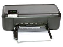 Impressora em um fundo branco Imagens de Stock