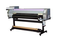 Impressora Inkjet de grande formato Fotografia de Stock