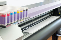 Impressora a jato de tinta Fotografia de Stock