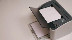 Impressora a laser vídeos de arquivo