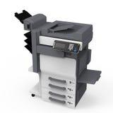 Impressora Multifunction do escritório ilustração stock