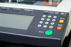 Impressora Multifunction no escritório imagem de stock