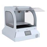 Impressora para fabricar os modelos 3d contínuos Imagem de Stock Royalty Free