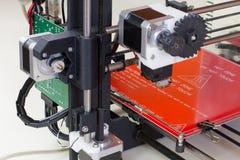 Impressora tridimensional Fotografia de Stock Royalty Free