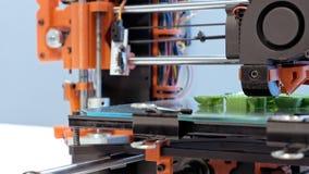 Impressora tridimensional do plástico 3d Imagens de Stock Royalty Free
