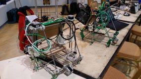 Impressoras 3D caseiros Foto de Stock