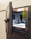Impressoras do metal 3D & x28; DMLS& x29; Imagens de Stock Royalty Free