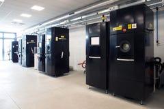 Impressoras do metal 3D & x28; EBM& x29; Fotos de Stock Royalty Free