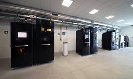 Impressoras do metal 3D & x28; EBM& x29; Imagens de Stock Royalty Free