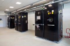 Impressoras do metal 3D & x28; EBM& x29; Imagem de Stock