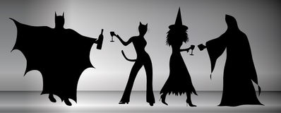 impreza halloween. ilustracji