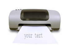Imprimante Photo libre de droits