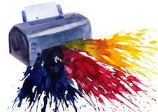 Imprimante Photographie stock