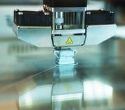 imprimante 3D dans l'action Photo stock