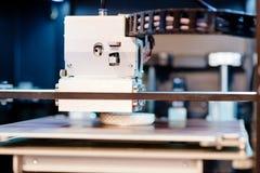 Imprimante 3D fonctionnante Photos libres de droits