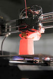 imprimante 3D pour le plastique Images stock
