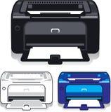 Imprimante de bureau Image stock