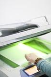 Imprimante de fax photographie stock