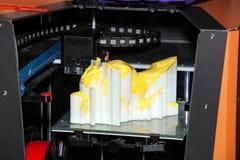 Imprimante de l'impression 3d Photographie stock libre de droits