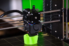 Imprimante de l'impression 3d Photos stock
