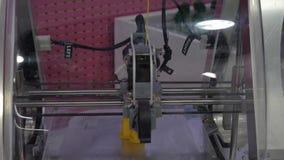 Imprimante de la machine 3d de nouvelle technologie banque de vidéos