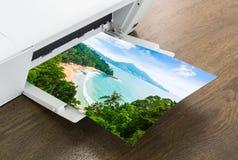 imprimante de papier Photographie stock libre de droits
