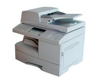 Imprimante multifonctionnelle Photographie stock