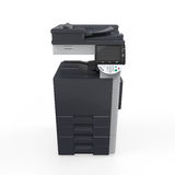 Imprimante multifonctionnelle de bureau Images stock