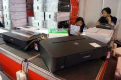imprimantes Photo libre de droits