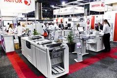 Imprimantes laser de couleur de Xerox - signe Afrique 2010 Photographie stock libre de droits