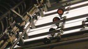 Imprimindo o detalhe deslocado da impressão do papel de máquina filme