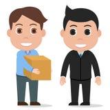 Deliver package vector. Deliver package, delivery service, eps 10 stock illustration