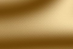 Imprint golden background and gold print on shiny foil, metallic. Trace royalty free illustration