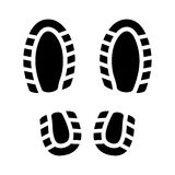 Imprint Shoes Royalty Free Stock Images