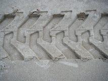 Imprint tyre Stock Photo