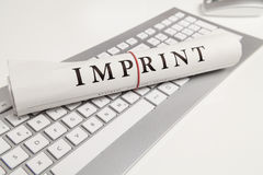 Imprint Stock Photos