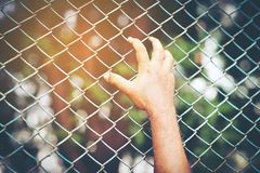 Imprison Detention of violence. Background royalty free stock photography