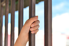 Imprisonment. The concept of life imprisonment Stock Image