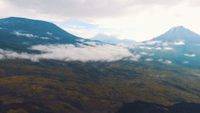 Improbable landscape Mountains. See the most beautiful view of the mountains. stock video footage