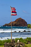 Impromptu Hawaiian flag Royalty Free Stock Images