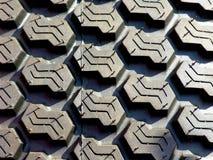 Impronta della gomma Fotografia Stock