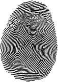 Impronta digitale (18) Fotografie Stock Libere da Diritti