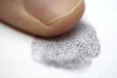 Impronta digitale Immagini Stock Libere da Diritti