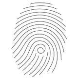 Impronta digitale Immagine Stock