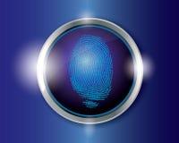 Impronta digitale di vettore Fotografia Stock