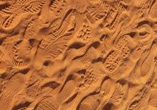 Impronte del piede - fondo fotografia stock libera da diritti