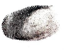 Impronte digitali Fotografia Stock