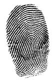 Impronte digitali fotografie stock libere da diritti
