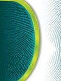 Impronte digitali di sbiadisc Fotografia Stock Libera da Diritti